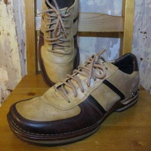 310 Motoring Mens 11.5 Shoes Leather Upper Brown